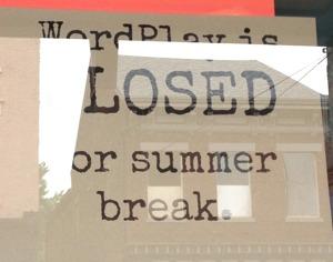 Wordplay-closed-sign