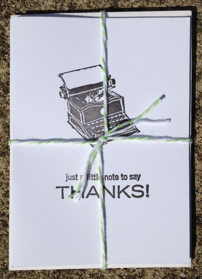 Note of Thanks Pack